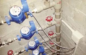 居民楼智能水表安装案例